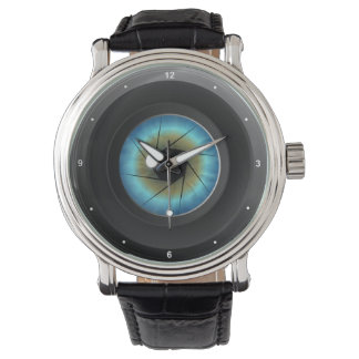 Cool Photography Blue Eye Camera Lens Photographer Watch
