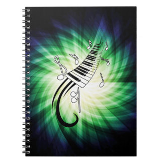 Cool Piano Design Notebooks