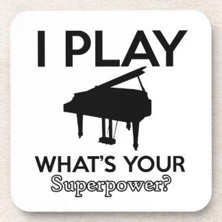 cool piano designs coaster