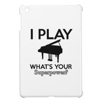 cool piano designs iPad mini cover