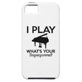 cool piano designs iPhone 5 cover