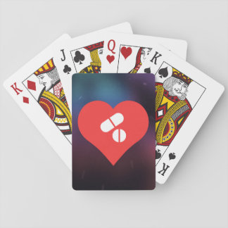 Cool Pills Picto Playing Cards