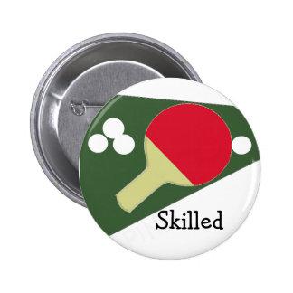 Cool Ping Pong Design 6 Cm Round Badge