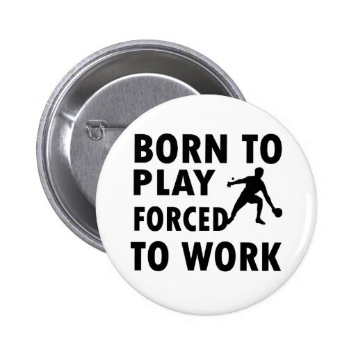Cool Ping Pong Designs Pinback Buttons