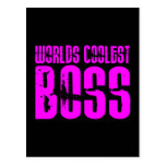 Cool Pink Gifts for Bosses : Worlds Coolest Boss