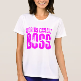 Cool Pink Gifts for Bosses : Worlds Coolest Boss Tees