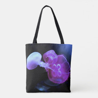 Cool Pink Jelly Fish up Close Tote Bag