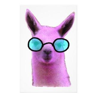 Cool Pink Llama! Customized Stationery