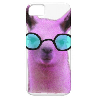 Cool Pink Llama! iPhone 5 Cover