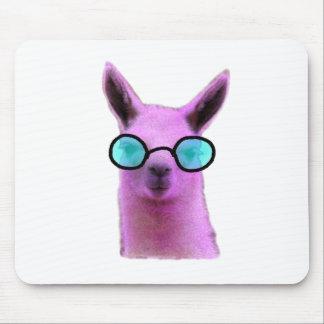 Cool Pink Llama! Mouse Pad