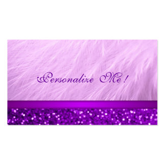 Cool Pink Purple Girly Glitter / House-of-Grosch Pack Of Standard Business Cards