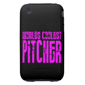 Cool Pitchers Pink : Worlds Coolest Pitcher iPhone 3 Tough Cover