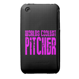 Cool Pitchers Pink : Worlds Coolest Pitcher iPhone3 Case