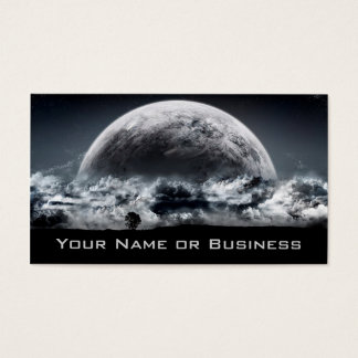 cool planets business card