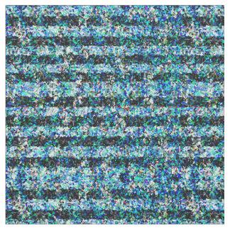 Cool Pointillist Stripes Fabric