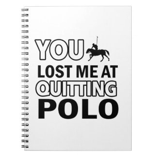 Cool polo designs notebook