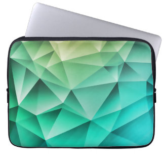 Cool Polygons Geometric Pattern Laptop Sleeve