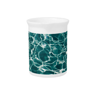 Cool Pool Waves Pitcher