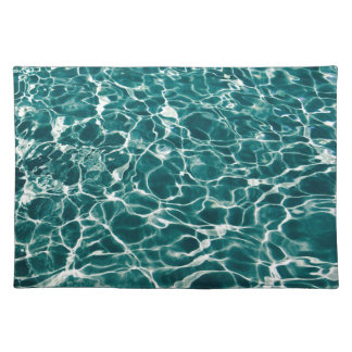 Cool Pool Waves Placemat