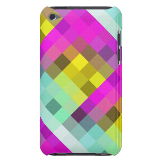 Cool & Popular Neon Colored Mosaic Pattern Barely There iPod Covers