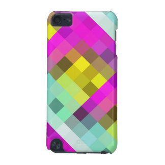 Cool & Popular Neon Colored Mosaic Pattern iPod Touch (5th Generation) Covers