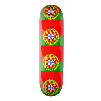 Cool Portugal Flag colourful Country Nationality f 20.6 Cm Skateboard Deck