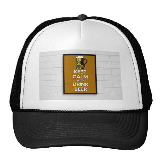 Cool poster, Keep calm and have a beer! Cap
