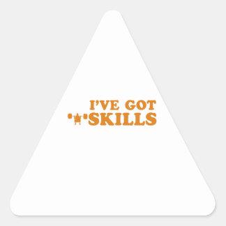 cool power lift designs triangle sticker