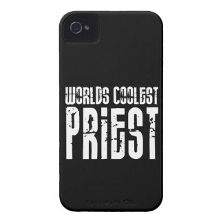 Cool Priests : Worlds Coolest Priest iPhone 4 Case-Mate Case