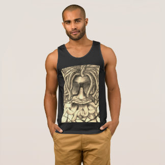 cool psychedelic drawing singlet