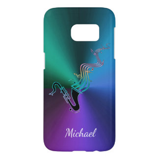 Cool Psychedelic Saxophone Personalized Music
