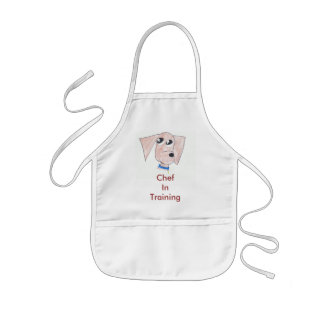 Cool Puppy Chef In Training Kids Apron
