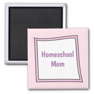 Cool Purple Box with Homeschool Mom Magnet