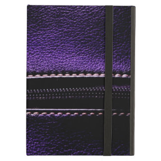 Cool Purple Leather Zipper Cases