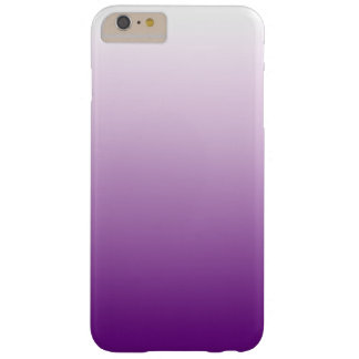 Cool Purple Ombre Girly Barely There iPhone 6 Plus Case