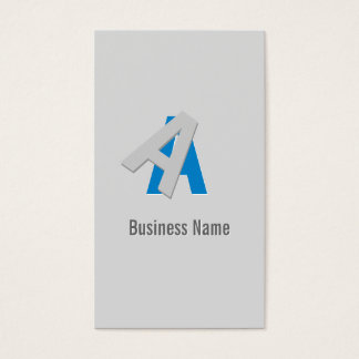Cool Puzzle Text Detective Business Card