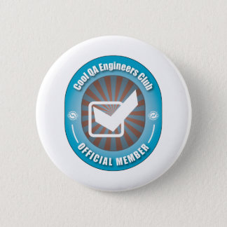 Cool QA Engineers Club 6 Cm Round Badge