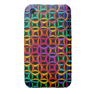 Cool rainbow patterns iPhone 3G/3GS Case iPhone 3 Case-Mate Case