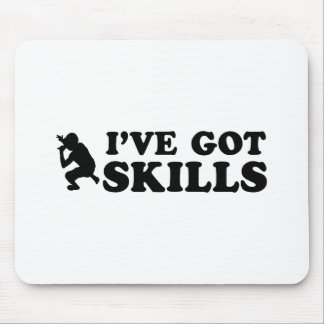 cool rap skills designs mouse pad