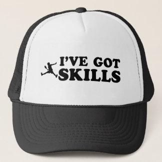 Cool raquetball skills designs trucker hat