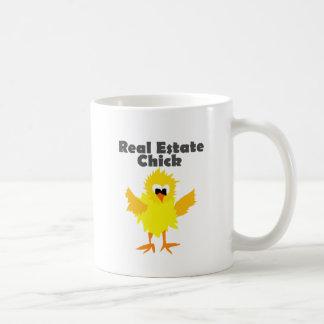 Cool Real Estate Chick Art Coffee Mug