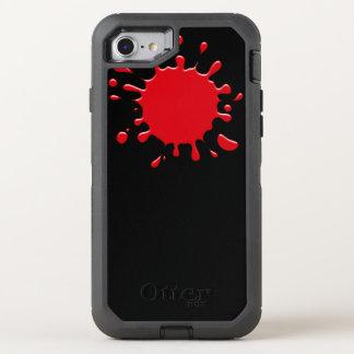Cool Red Blood Splatter OtterBox Defender iPhone 7 Case