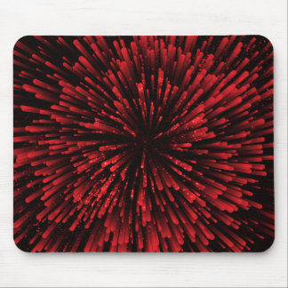 Cool red Explosion Design Mouse Pad
