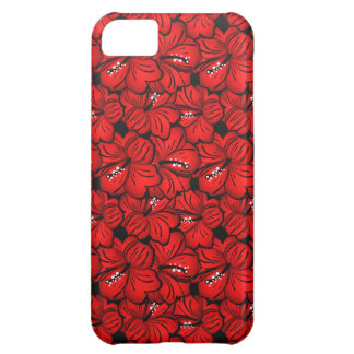 Cool red flowers iPhone mate case iPhone 5C Case
