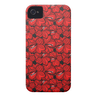 Cool red flowers iPhone mate case Case-Mate iPhone 4 Cases
