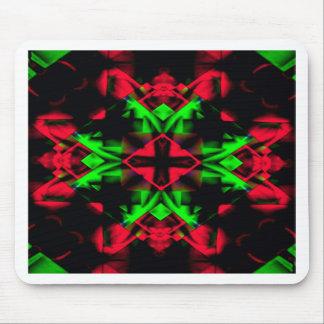 Cool Red Green Seasonal Christmas  Novel Pattern Mouse Pad