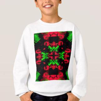 Cool Red Green Seasonal Christmas  Novel Pattern Sweatshirt