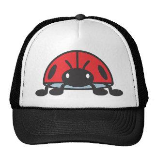 Cool Red Ladybug Cartoon Hats