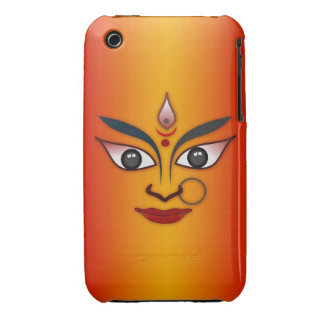 Cool religion face Indian mask goddess iPhone 3 Cases