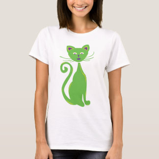 Cool Retro Cat T-Shirt